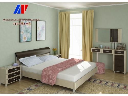 Спальня Камелия Дуб беленый комбинированный