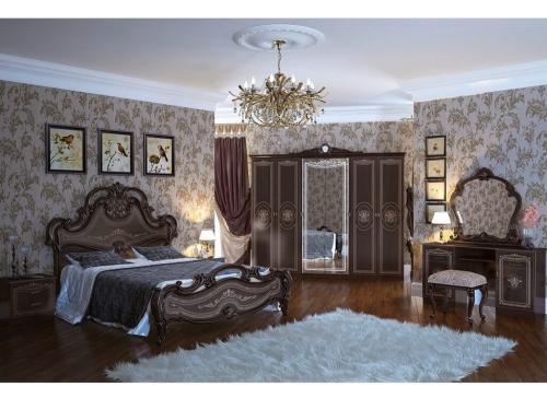 Спальня классическая Грация орех тайский