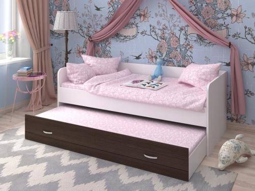 Кровать двухъярусная выкатная Ярофф
