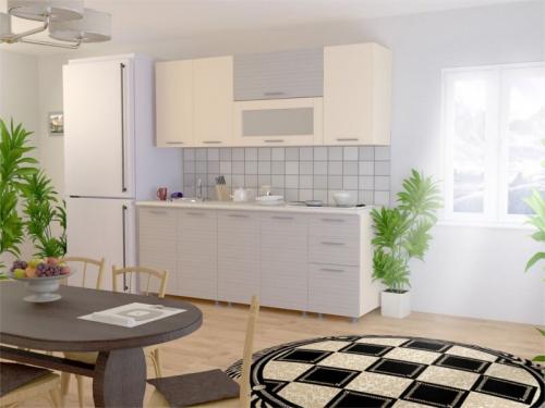 Кухня Модерн Ваниль