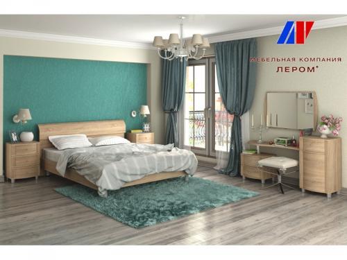 Спальня Дольче Нотте Дуб Сонома