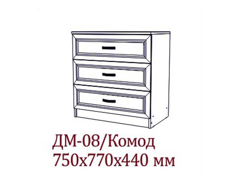 "ДМ-08 Комод 750х770х440 мм </p><font class=""price-kupimenya"">Цена 7349</font><input onclick=""product_add(9)"" type=""submit"" title=""В корзину"" value=""В корзину"" class=""buykupit"">"