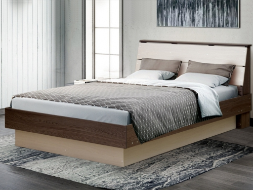 Кровать двойная Венеция 9 вариант 1