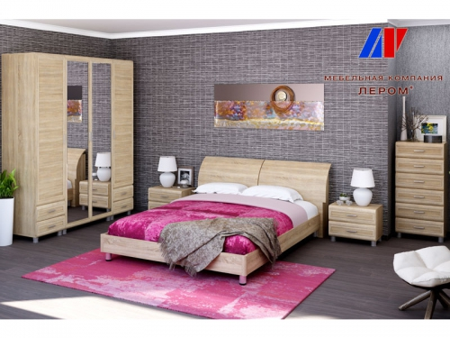 Спальня Мелисса Дуб Сонома